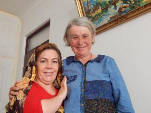 Agnes met moeder Hamite