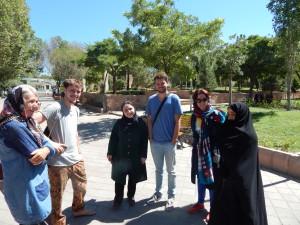 2 Duitsers uit Heidelberg op rondreis in Iran