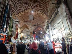 de Grand Bazaar van Tabriz